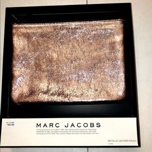 Marc Jacobs for Target Metallic Leather Pouch